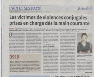 PRESSE - VIOLENCES CONJUGALES